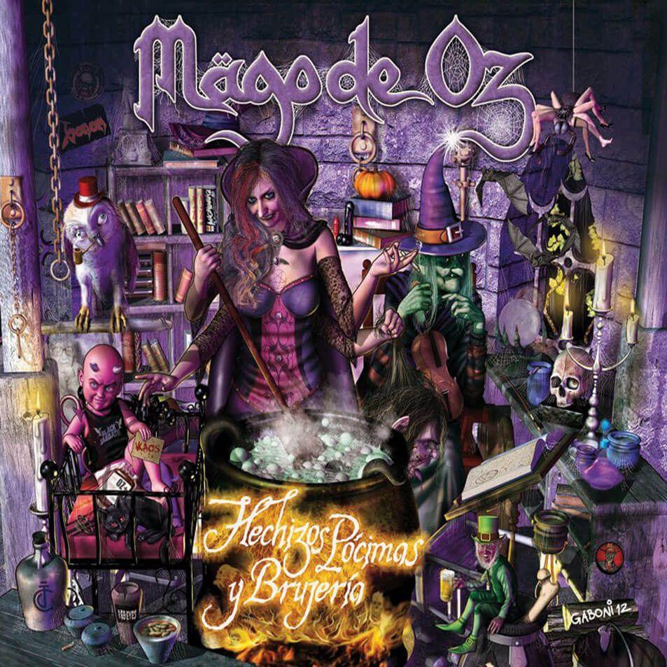 Mägo de Oz Hechizos, pócimas y brujería