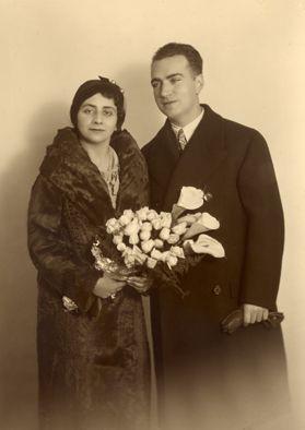 Joaquín Rodrigo and wife