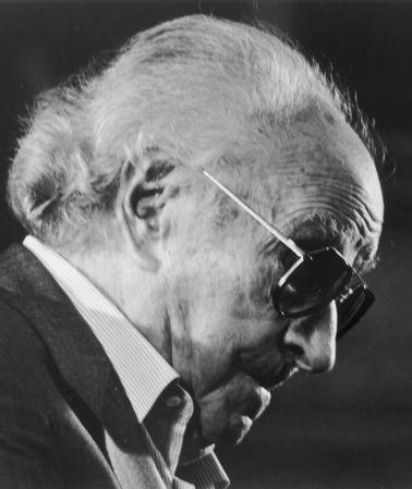 Joaquin Rodrigo Spanish composer